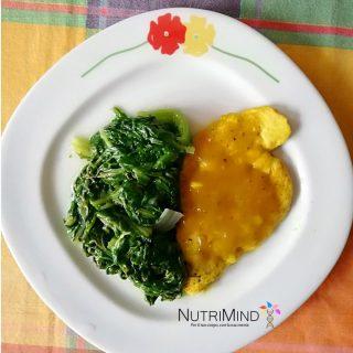 Pollo in crema di brandy e curry