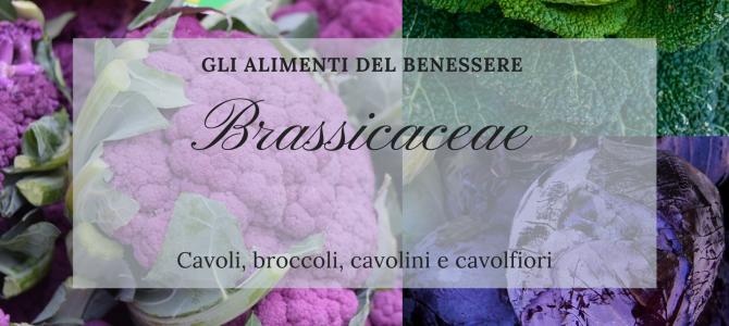 """""""Gli Alimenti del Benessere"""": le Brassicaceae"""